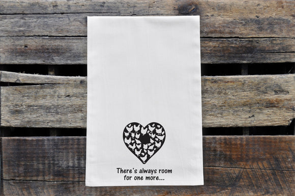 Tea Towel - Room For One More