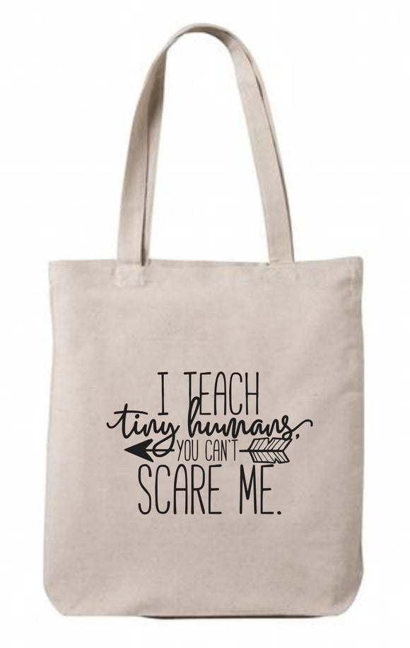 Tiny Humans Canvas Tote