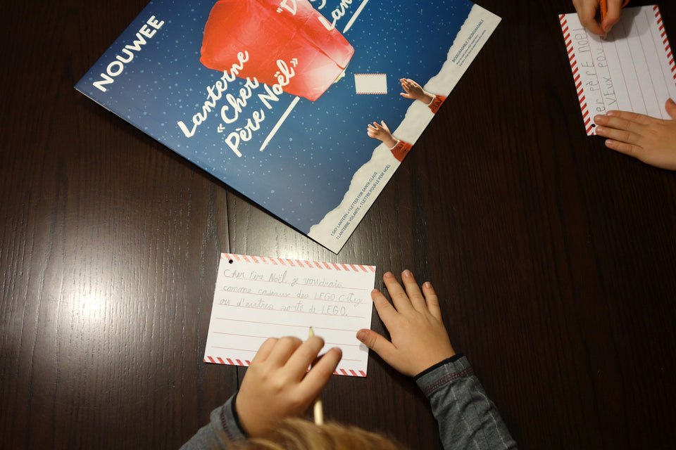 writing a message for santa