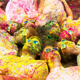 Premium colour powder recharge for colour run fundraising school activity race holi gender reveal