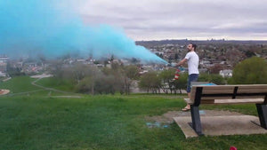 Premium colour powder blasters for colour race gender reveal fundraising school activity pink blue