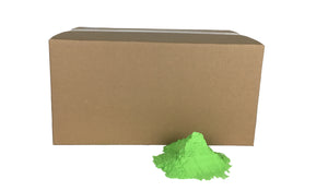 25lbs box of green colour powder