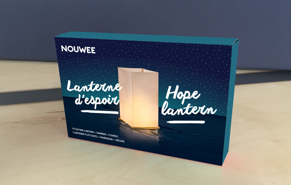 chineese floating lantern packaging