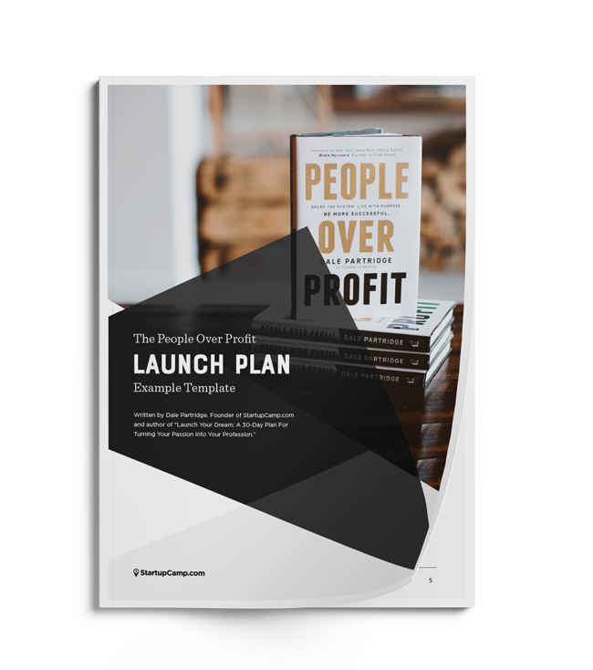 People Over Profit Example Launch Plan