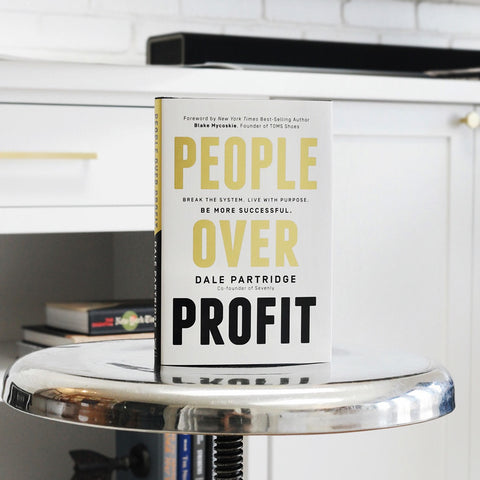 People Over Profit Hardcover Book