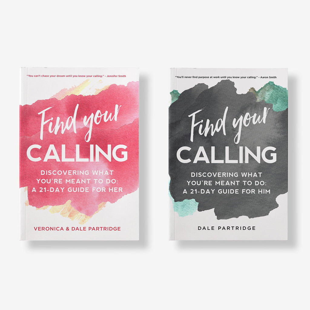 Find Your Calling: His & Her's Paperback Book Bundle