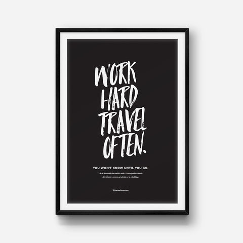 Travel Often Print