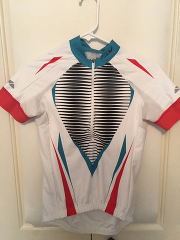 Women's Short Sleeve Jersey Cycling Sample - Size Small