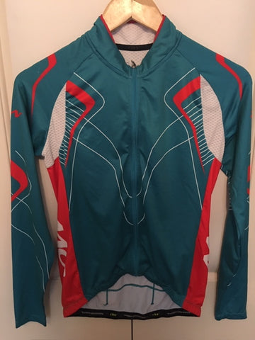 Women's Long Sleeve Jersey Cycling Sample - Size Small