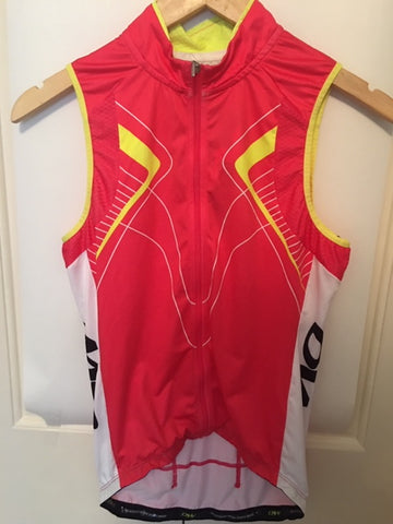 Women's Sleeveless Jersey Cycling Sample - Size Small