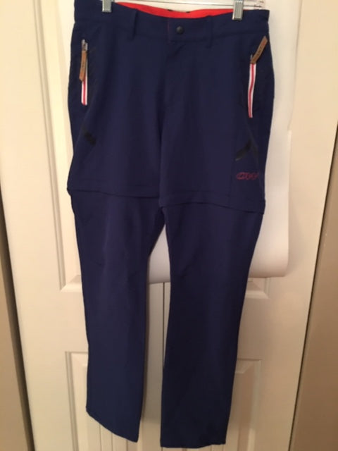 Convertible Pants - zip off legs - Small