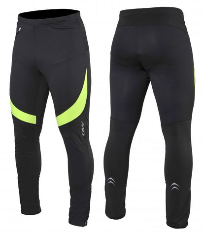Rayn Softshell Pant - Black/Yellow