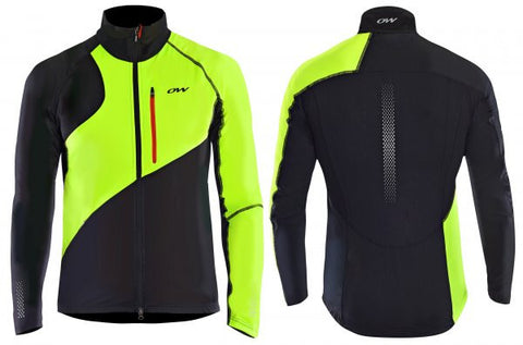 Draco Softshell Jacket - Black/Yellow