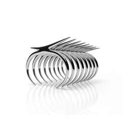 The CALATRAVA Cuff | 14k Solid White Gold