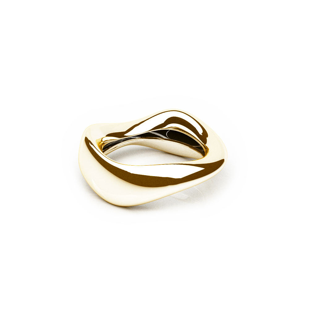 The FLOW Ring | 14k Solid Gold