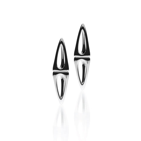 The LIEBESKIND Earrings | 14k Solid White Gold