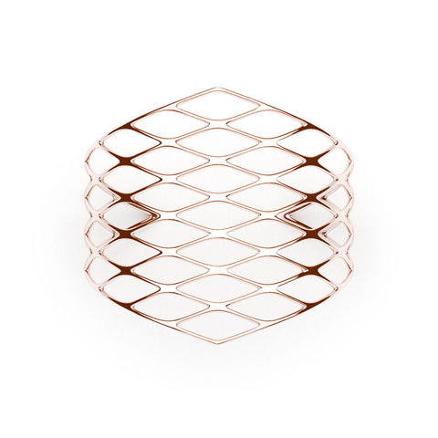 The GRID Cuff | VOGUE | 18k Rose Gold Sterling