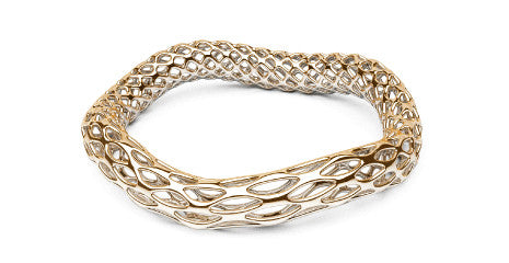 DOUBLE WAVE BANGLES HIVE & GRID STATEMENTS BRACELETS