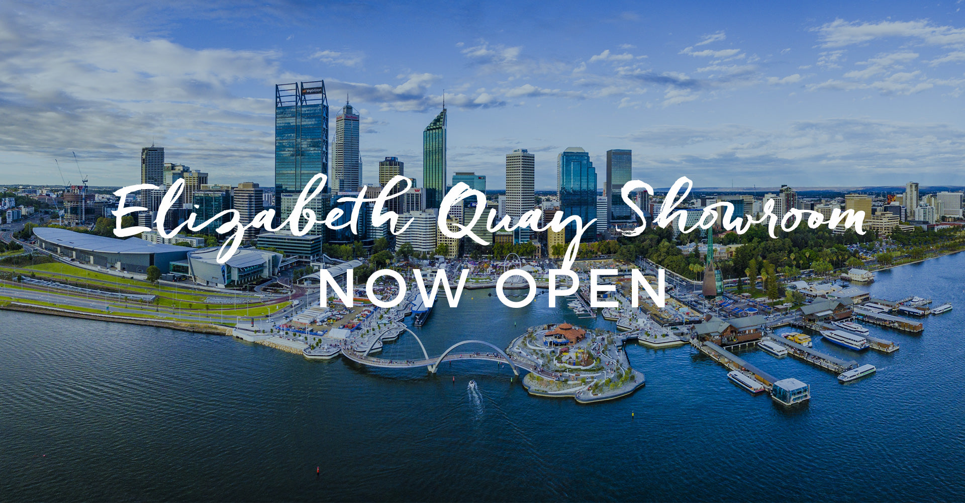 Elizabeth Quay Now Open