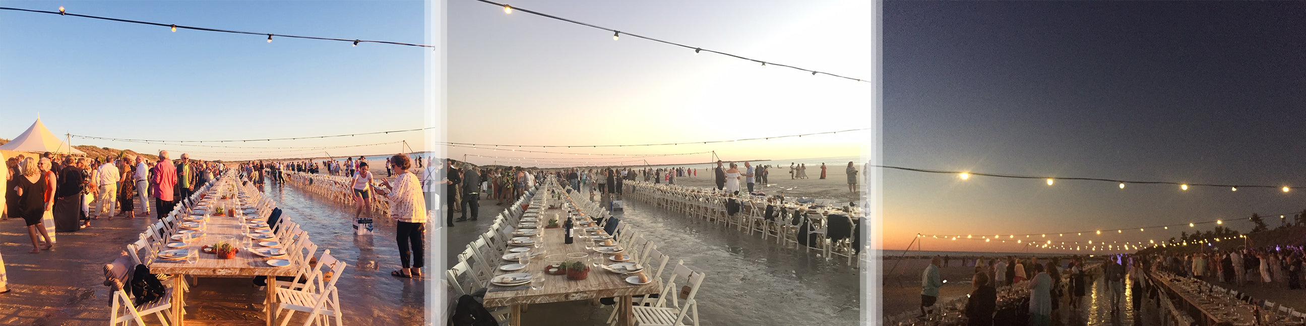 Cable Beach Long Table Dinner