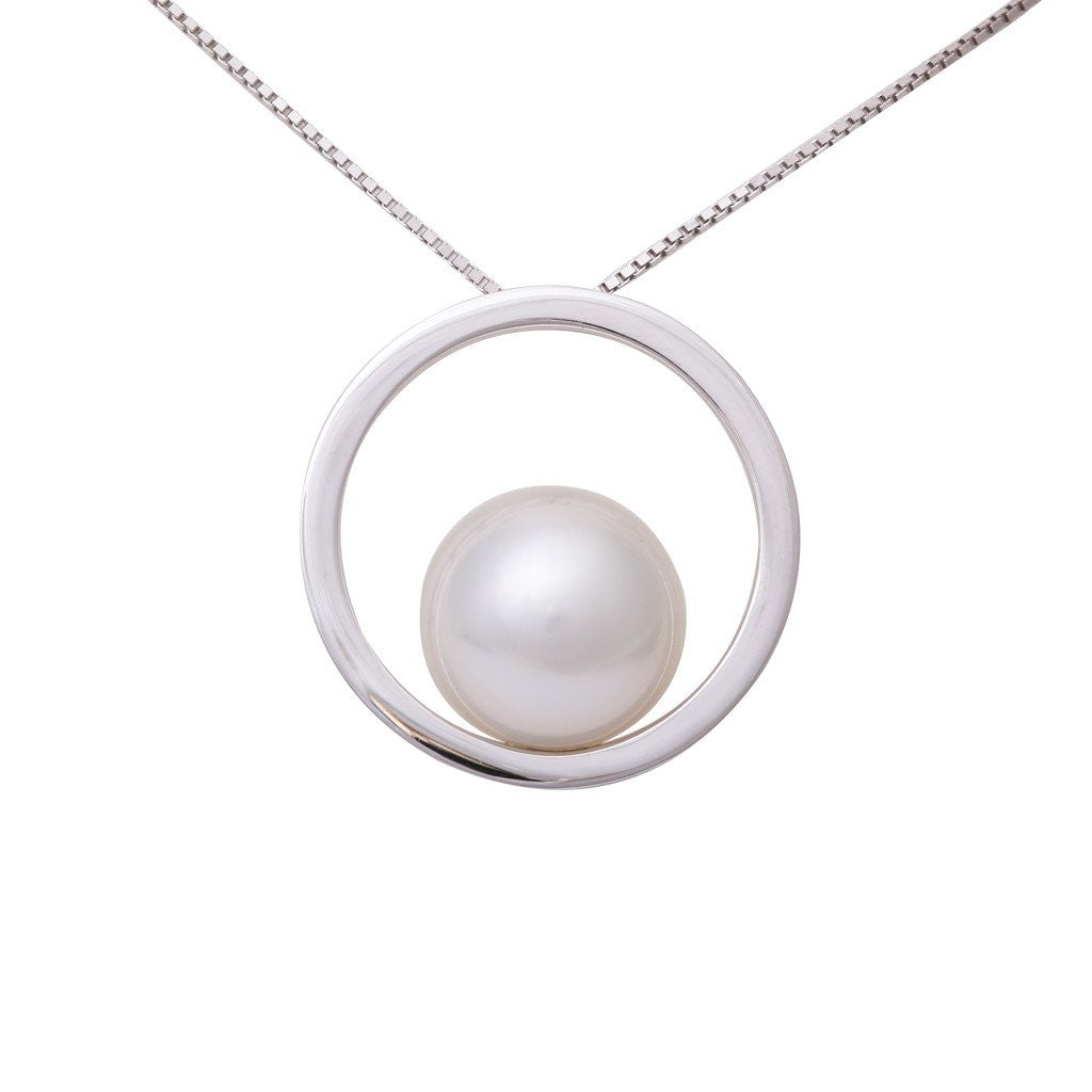 bling necklace pearl white sea strand jewelry double south pearls bridal jewellery shell