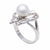 Sterling Silver Australian South Sea Cultured Pearl Ring