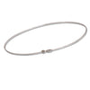 18K White Gold Necklace 45cm