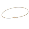 18K Yellow Gold Omega Necklace
