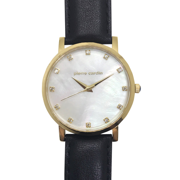 Pierre Cardin Mother Of Pearl Watch