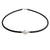 9K White Gold Australian South Sea Cultured Pearl Neoprene Necklace