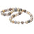 18K White Gold South Sea Cultured Pearl Strand
