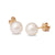 18K Yellow Gold South Sea Cultured Pearl Stud Earrings