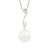 18K White Gold Australian South Sea Cultured Pearl Necklace