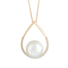 18K Yellow Gold Australian South Sea Cultured Pearl Necklace