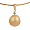 18K Yellow Gold South Sea Cultured Pearl Pendant