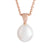 18K Rose Gold Australian South Sea Cultured Pearl Pendant