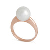 9K Rose Gold Australian South Sea Cultured Pearl Ring