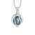 Sterling Silver Tahitian Cultured Black Pearl Pendant