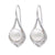 Sterling Silver Freshwater Pearl 9.5-10 mm Earrings