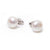 Sterling Silver Freshwater Pearl 10-10.5 mm Stud Earrings