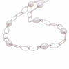 Sterling Silver Freshwater Pearl 8-9 mm Necklace