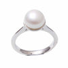 Sterling Silver Freshwater Pearl 9-10 mm Ring