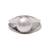 Sterling Silver Freshwater Pearl 10-10.5 mm Ring