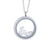 Stainless Steel Australian South Sea Keshi Pearl Locket