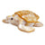 Mother of Pearl Gold Turtle 3""