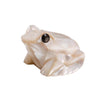 Mother of Pearl White Frog