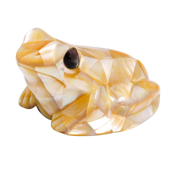 Mother of Pearl Gold Frog 2.5