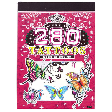 One Hundred Temporary Tattoo Designs Booklet H86