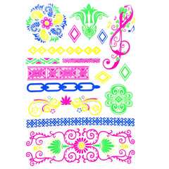 Temporary Tattoo - Day-Glo Temporary Tattoos - Design 73