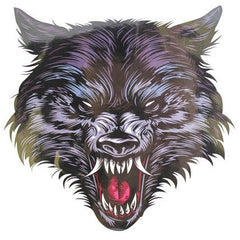 Temporary Tattoo - Wolfs Head Temporary Tattoo